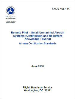Remote Pilot Small Unmanned Aircraft Systems